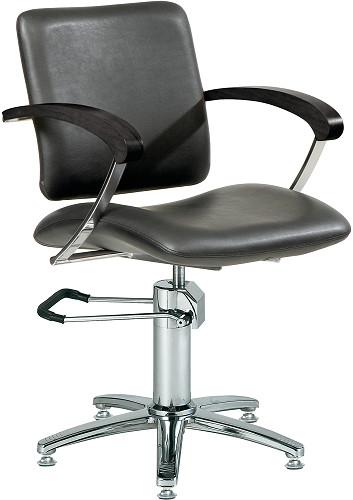 comair london mit beweglicher r ckenlehne friseurstuhl r ckenl stuhl arml schwarz nr 7000047. Black Bedroom Furniture Sets. Home Design Ideas