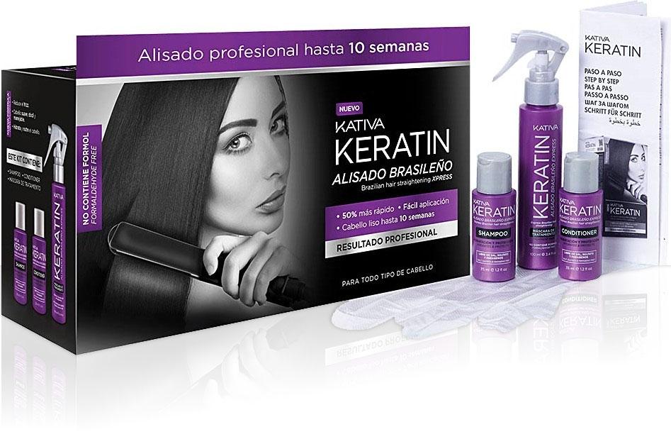 Kativa Brazilian Xpress Keratin-Haarglättungs Kit K75034501