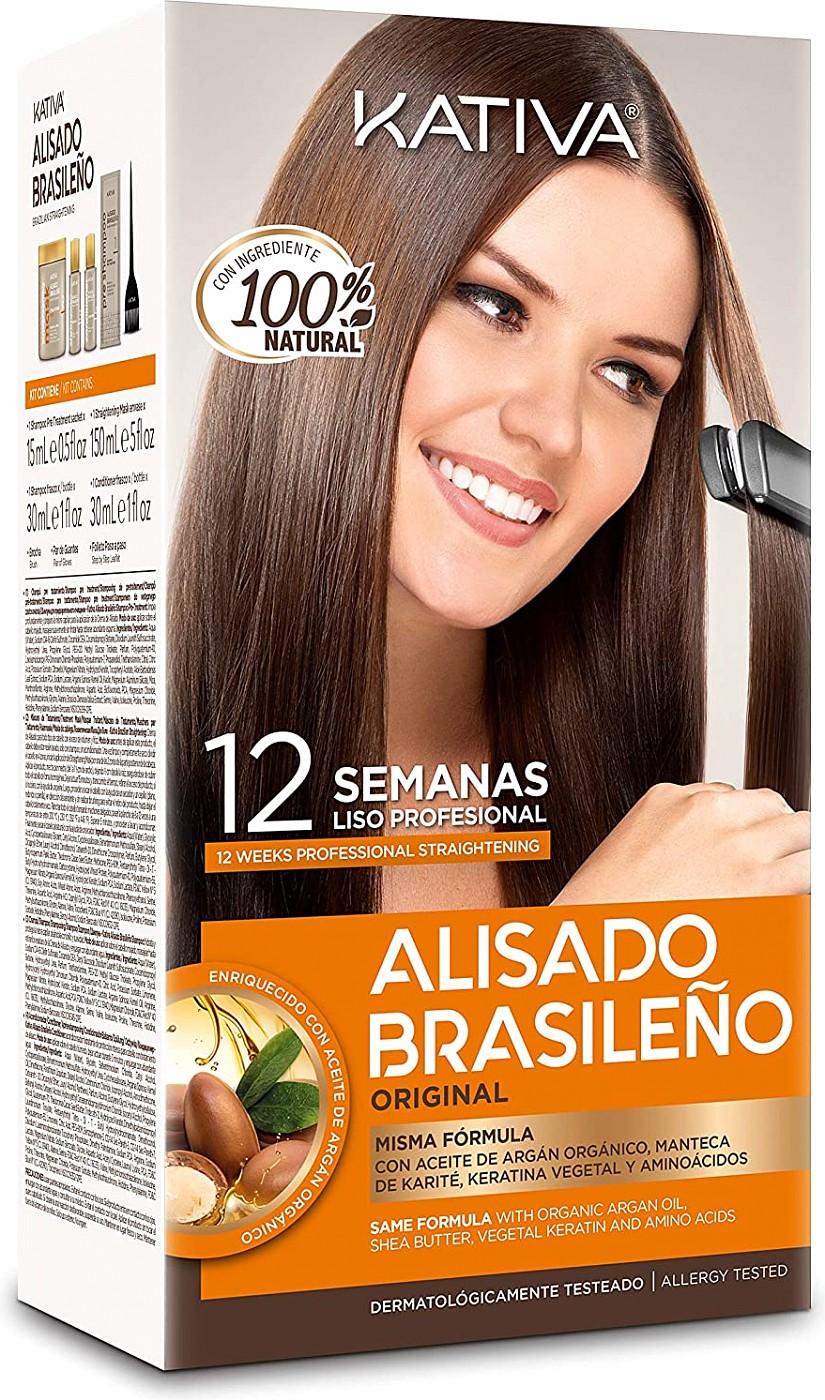 Kativa Brazilian Keratin-Haarglättungs Kit K75040243