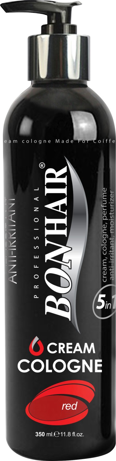Bonhair After Shave Creme Cologne 5 in 1 Rot