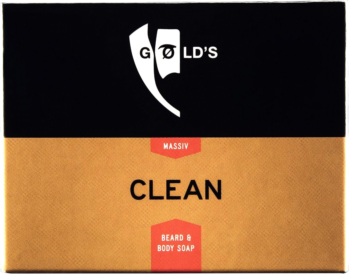 Gold's Bartseife Clean 100 g GO-70735