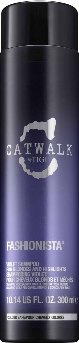 TIGI Catwalk Fashionista Violet Shampoo 300 ml 615908426847