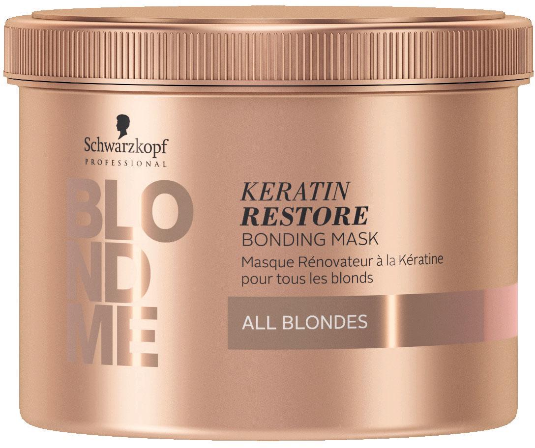 Schwarzkopf BlondMe Restore Bond Maske All Blond 500 ml
