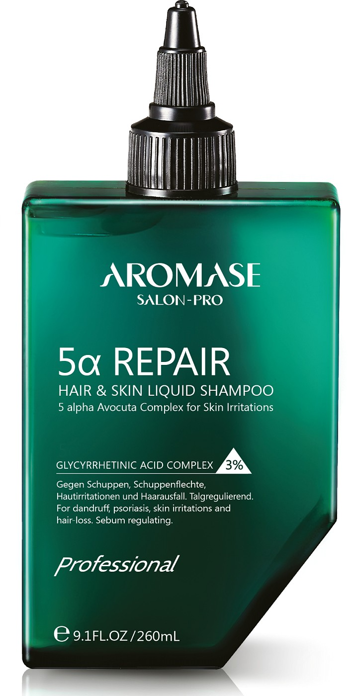 Aromase 5α Repair Hair & Skin Liquid Shampoo 260 ml