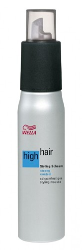 Wella High Hair Styling Mousse