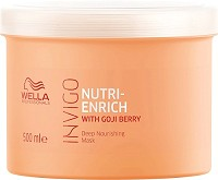 Wella Invigo Nutri-Enrich Deep Nourishing Maske 500 ml