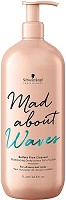 Schwarzkopf Mad About Waves Sulfatfreies Shampoo 1000 ml