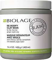 Matrix Biolage R.A.W. Re-Bodify Clay Mask 400 ml