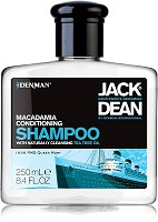 Jack Dean Macadamia Conditioning Shampoo 250 ml