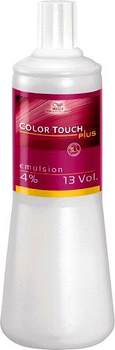 Wella Color Touch Plus Emulsion 4% 1000 ml