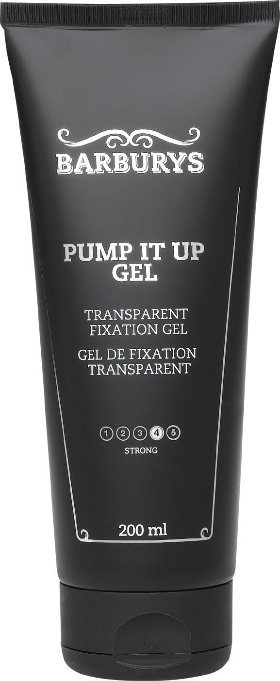 Barburys Pump It Up Gel Transparentes Fixiergel 200 ml SN-8940002