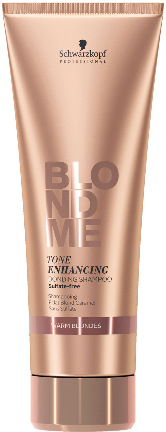 Schwarzkopf BlondMe Enhance Bond Shampoo Warmes Blond 250 ml 2144601