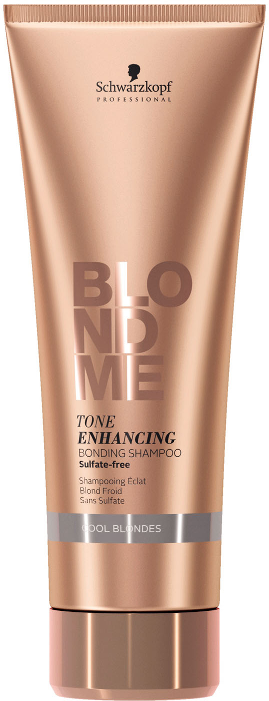 Schwarzkopf BlondMe Enhance Bond Shampoo Cool Blond 250 ml 2144627