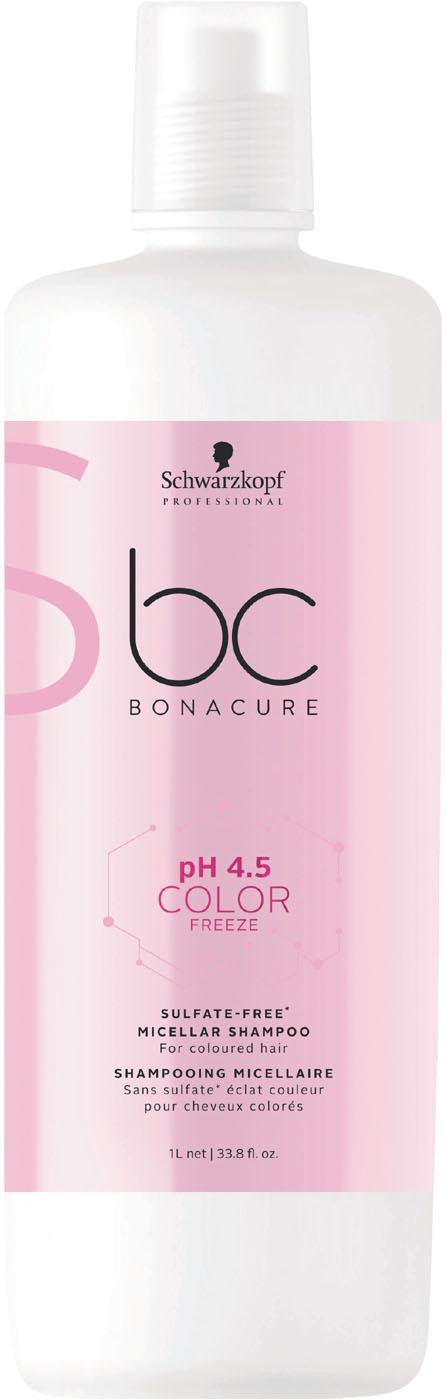 Schwarzkopf BC Color Freeze pH 4.5 Micellar Sulfatfreies Shampoo 1000 ml 2323719