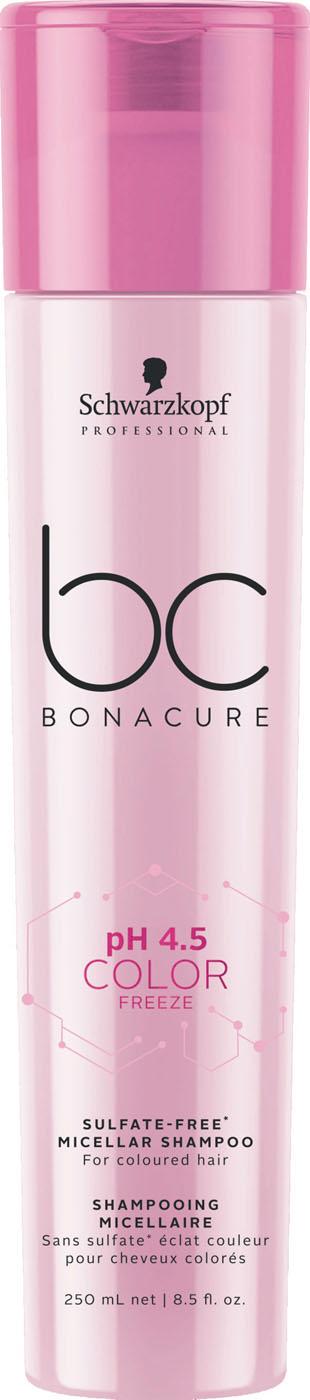 Schwarzkopf BC Color Freeze pH 4.5 Micellar Sulfatfreies Shampoo 250 ml 2326606