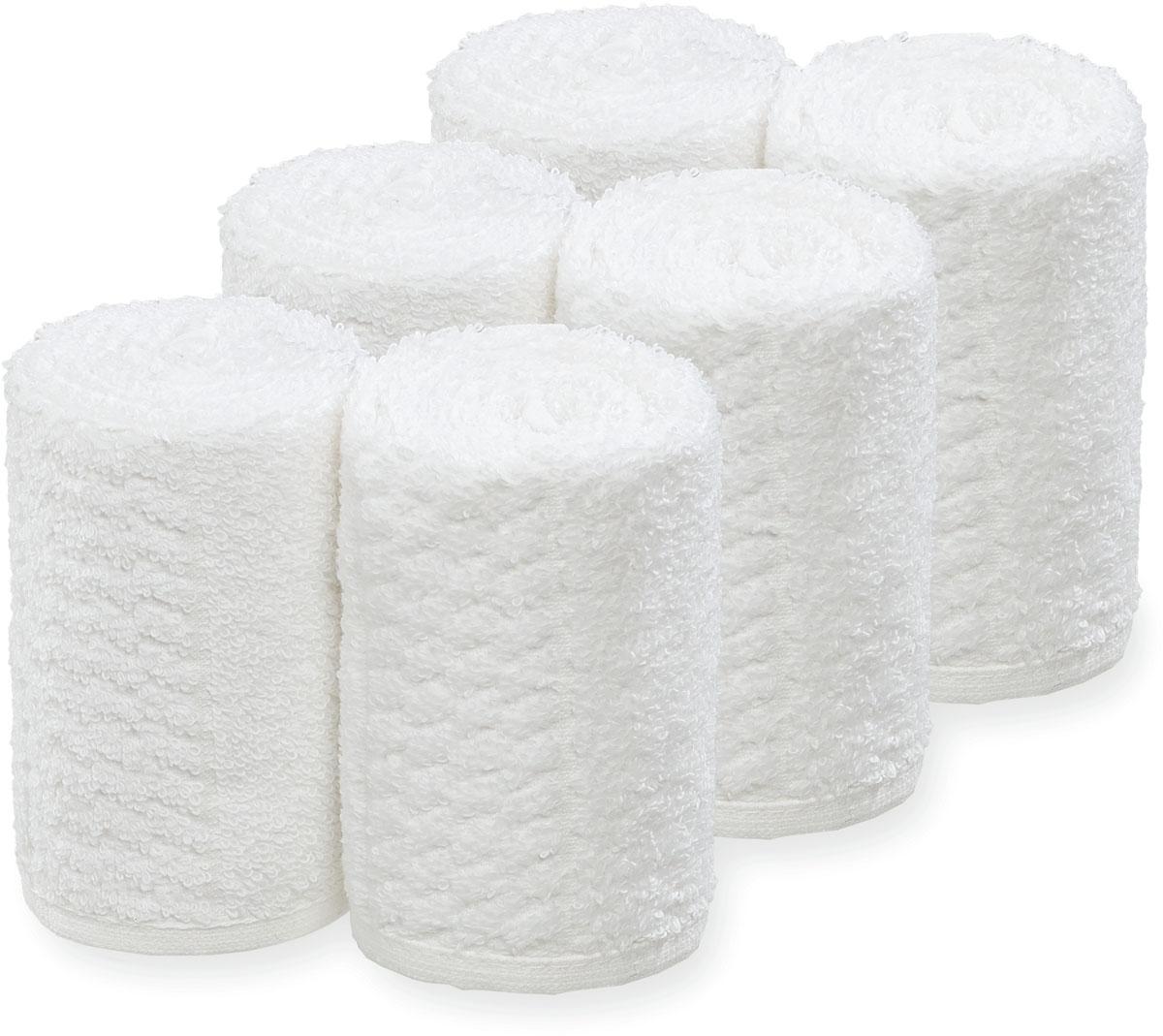 Barburys Take Care Handtücher-Gesichtstücher 6Stk / Weiss SN-3500261
